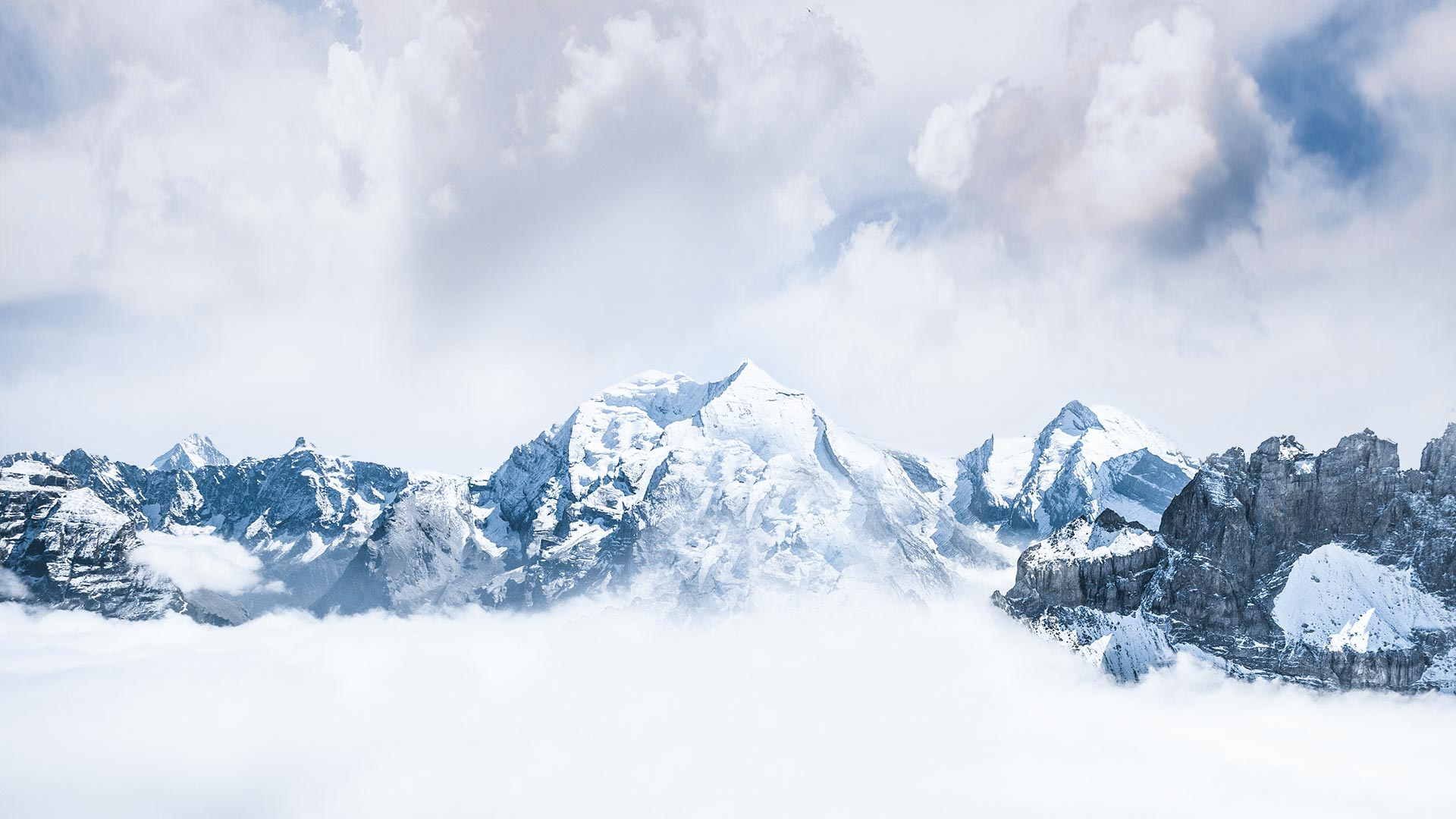 Cold Mountains Background